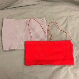 2 basic tops sleeveless brand new